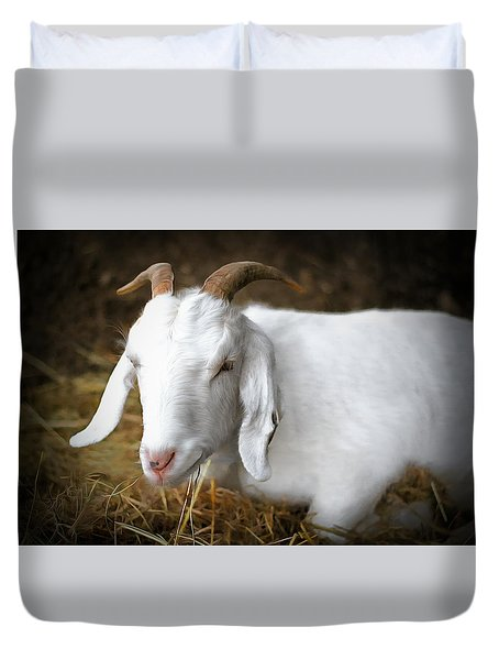 Bedded Down Duvet Cover by Marion Johnson