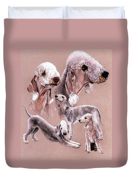 Bedlington Terrier Duvet Cover