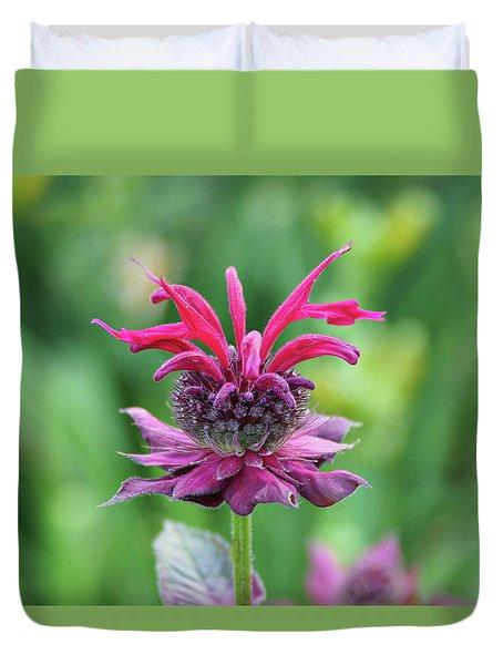 Bee Balm Duvet Cover
