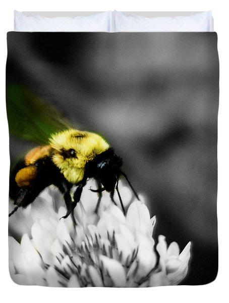 Bee Bee Duvet Cover