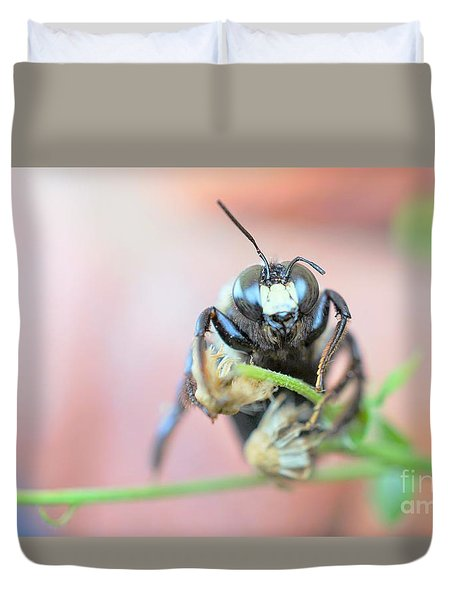 Bee Busy Duvet Cover