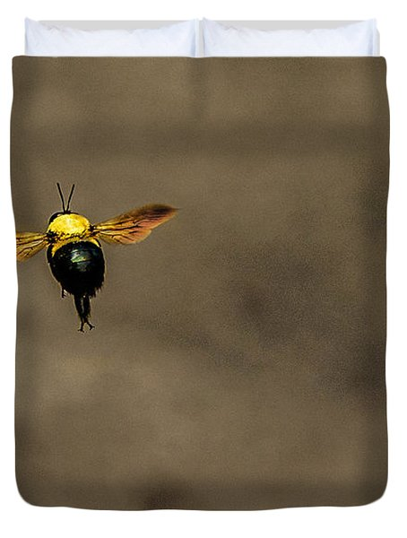 Bee Dance Duvet Cover