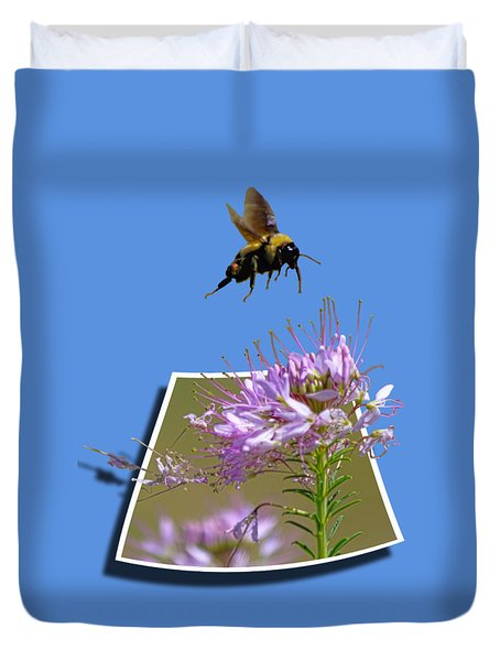 Bee Free Duvet Cover
