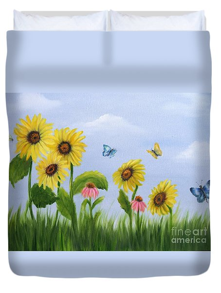Bee Friends Duvet Cover