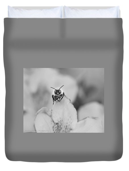 Bee Looking At Me Duvet Cover