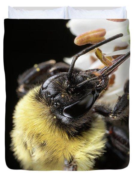 Bee Macro 1 Duvet Cover