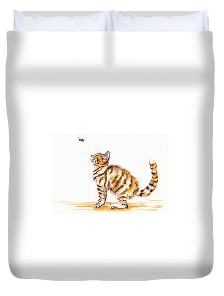 Bee-witched Duvet Cover