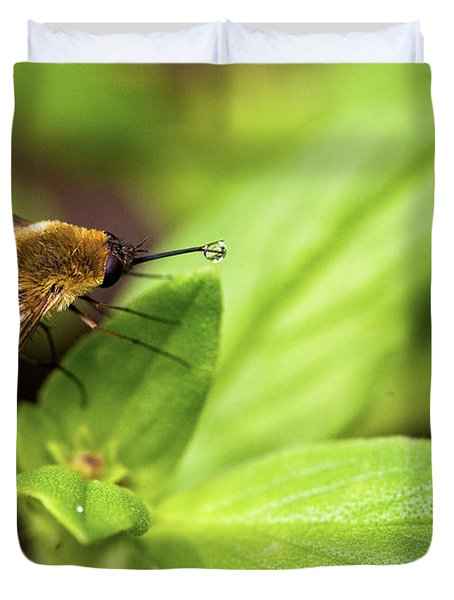 Beefly Duvet Cover by Christopher Holmes