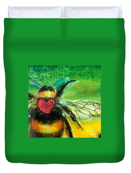 Beehave Duvet Cover