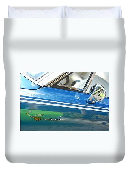 Beep Beep Hot Rod Duvet Cover
