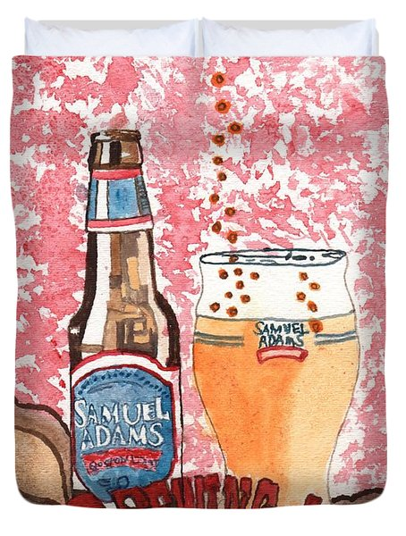 Beer From A Bottle No.6 Duvet Cover