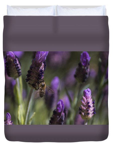 Bee's Delight Duvet Cover by Laura Pratt