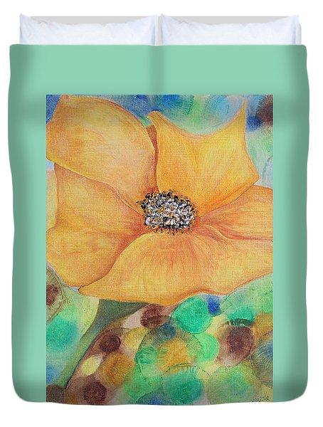 Bees Delight Duvet Cover