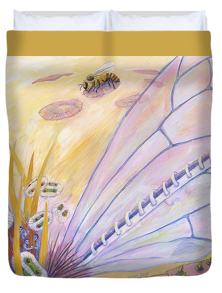 Bee's Wings Duvet Cover