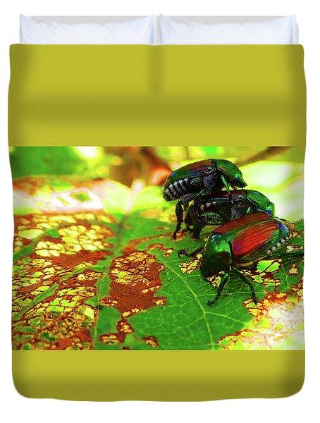 Beetlemania-a Bugs Life Duvet Cover