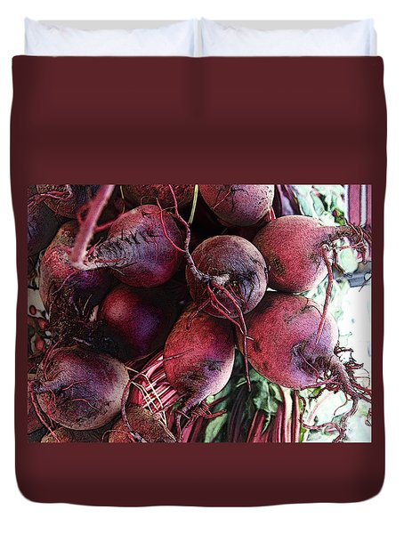 Beets Duvet Cover by David Blank