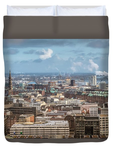 Befor A Snow Storm Hamburg Duvet Cover