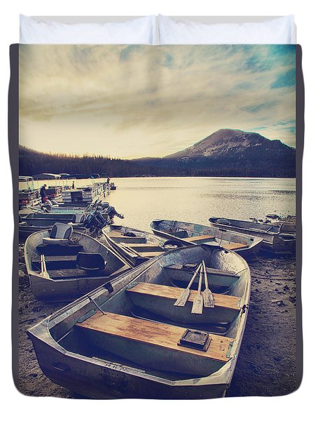 Before Another Day Disappears Duvet Cover