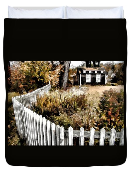 Duvet Cover featuring the photograph Before Snow Flies by Betsy Zimmerli
