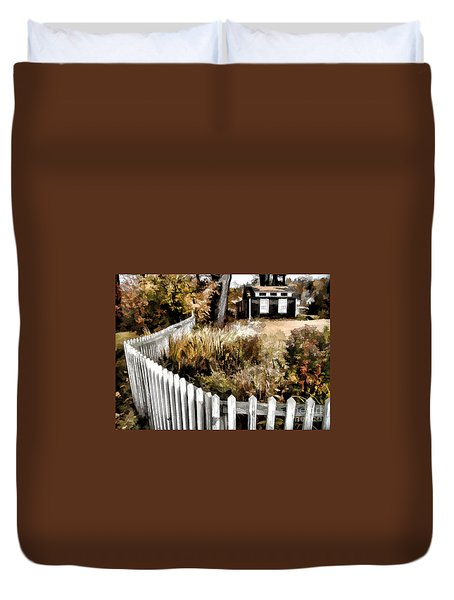Before Snow Flies Duvet Cover by Betsy Zimmerli
