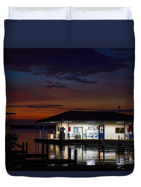 Before Sunrise Duvet Cover by Diana Mary Sharpton