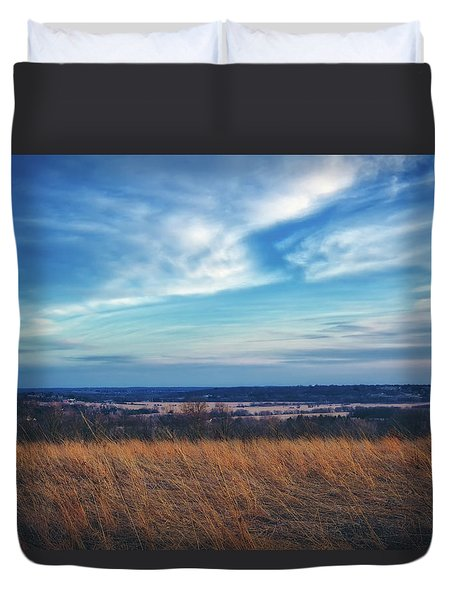 Before Sunset At Retzer Nature Center - Waukesha Duvet Cover by Jennifer Rondinelli Reilly - Fine Art Photography