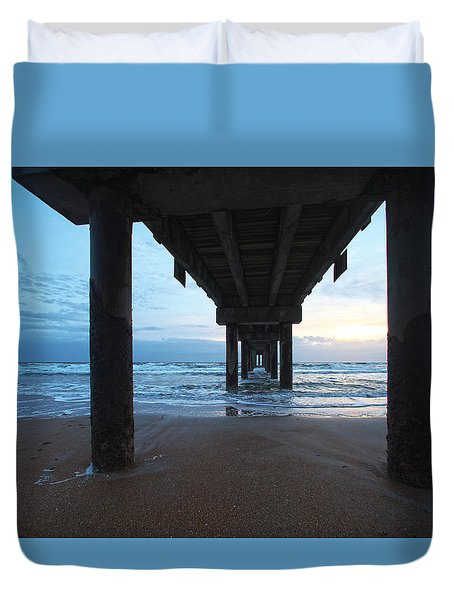 Before The Dawn Duvet Cover