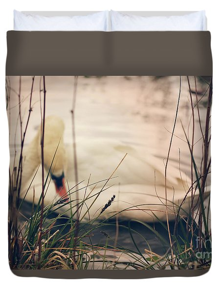 Before The Night Falls Duvet Cover