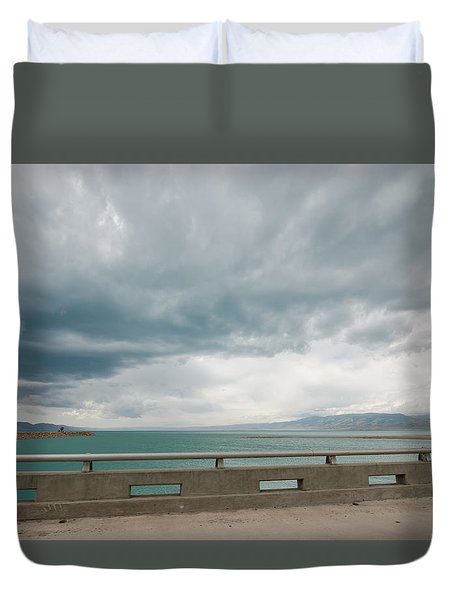 Before The Rains Duvet Cover