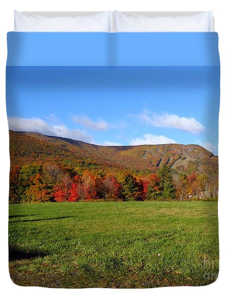 Before The Snow Flies Duvet Cover