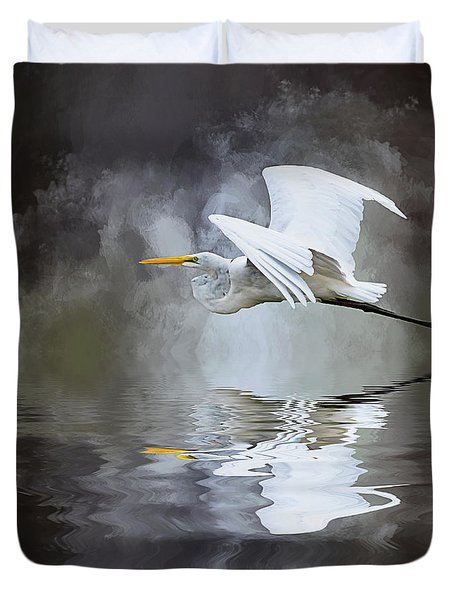 Before The Storm Duvet Cover by Cyndy Doty