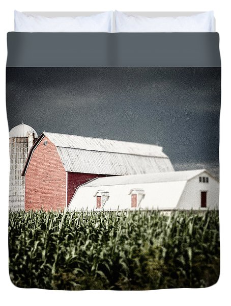 Before The Storm Duvet Cover by Lisa Russo