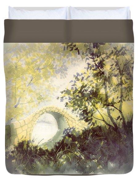 Beggar's Bridge Vignette Duvet Cover