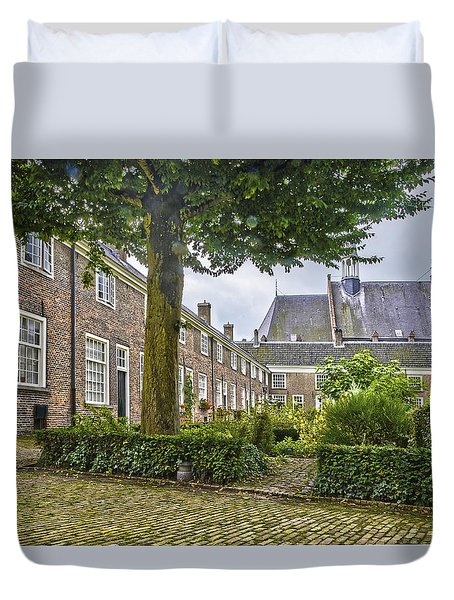 Begijnhof In Breda Duvet Cover