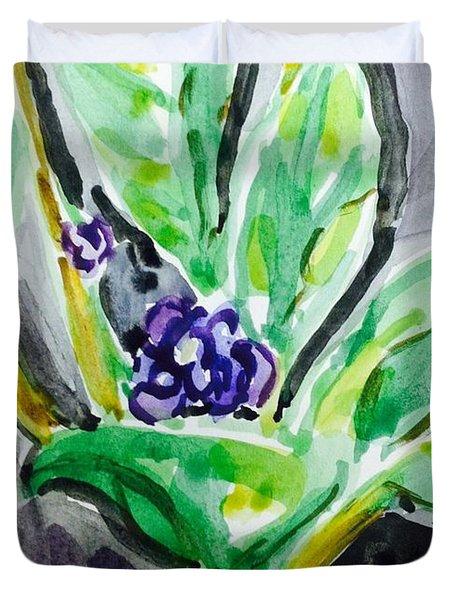 Beginning Bloom  Duvet Cover