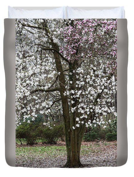 Duvet Cover featuring the photograph Beginning Of The End Of Spring by Gary Slawsky
