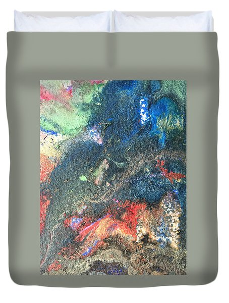 Beginnings - Geology Series Duvet Cover
