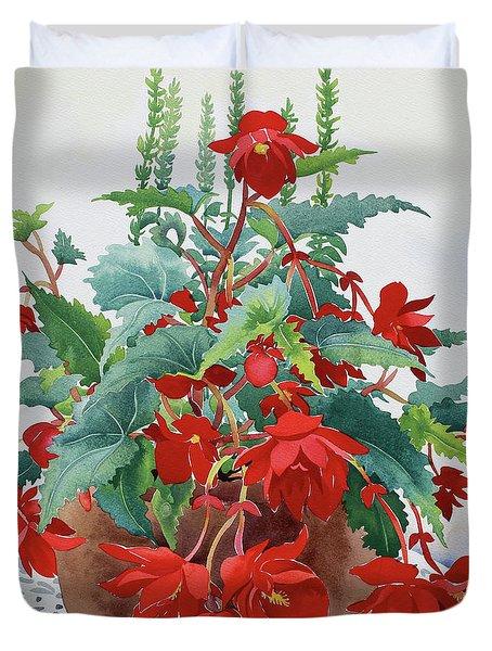 Begonia Duvet Cover