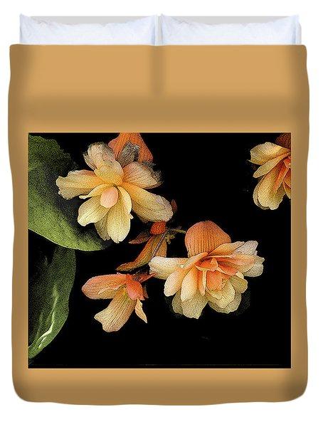Begonias 2 Duvet Cover