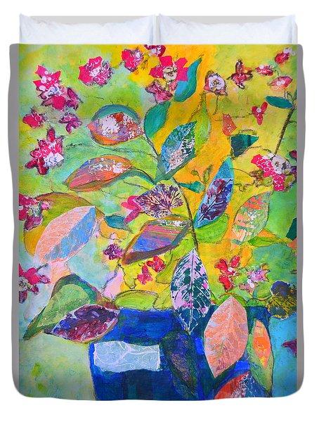 Begonias Duvet Cover