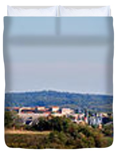 Behind Pats Hill Duvet Cover by Mark Dodd