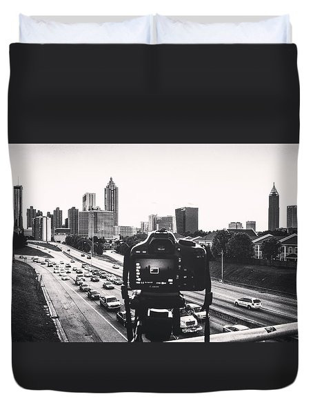 Behind The Lens Duvet Cover
