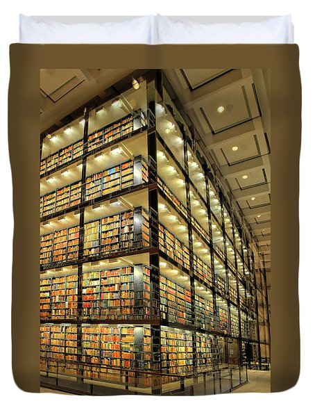 Beinecke Library At Yale University Duvet Cover