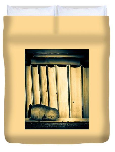 Being John Malkovich Duvet Cover by Bob Orsillo