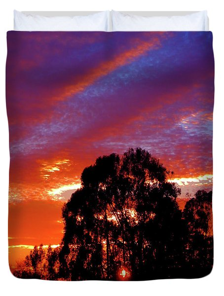 Being There Duvet Cover