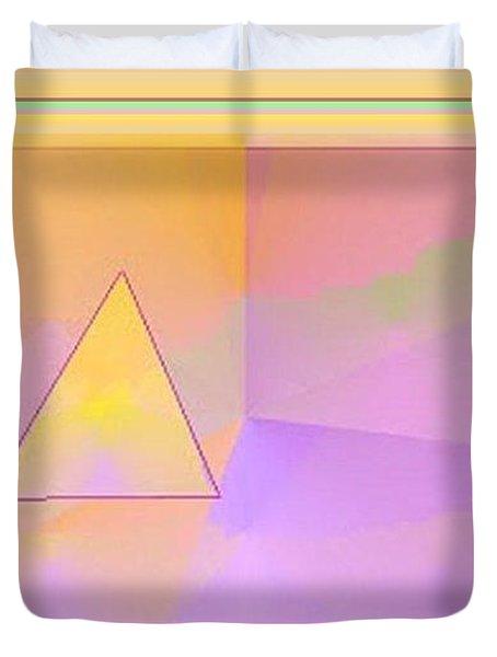 Beings Of Light Portal Duvet Cover