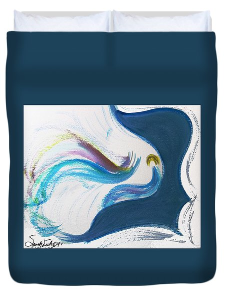 Beit Breathe And Meditate Duvet Cover