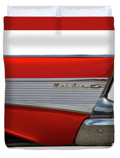 Duvet Cover featuring the photograph Bel Air by Peter Tellone