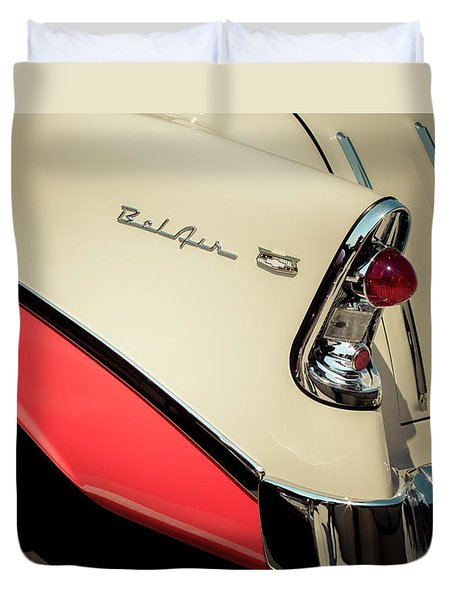 Duvet Cover featuring the photograph Bel Air Style by Caitlyn Grasso