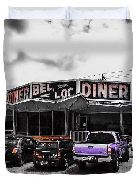 Bel-loc Diner Duvet Cover